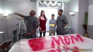 Big Black Cock Painters Pound Horny Mom