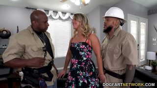 TV Repairman And His Apprentice DP Big Ass MILF